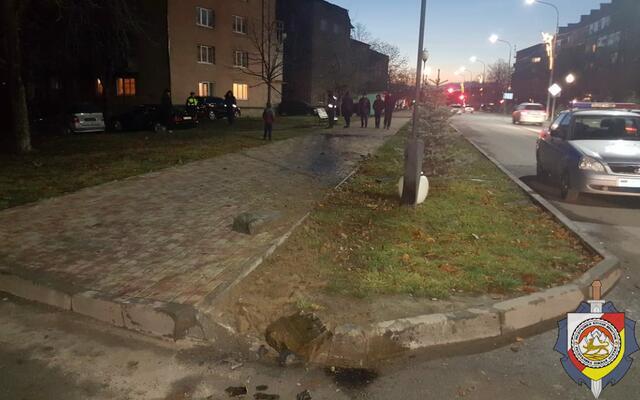 Пьяный водитель после ДТП скрылся с места происшествия